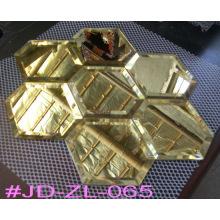 Золото Специальный Кристалл Зеркало Плитка Стены