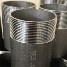 Steckverbinder für Stecker aus Kohlenstoffstahl Rohrnippel