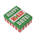 Christmas Custom Label Printed Gift Paper Box