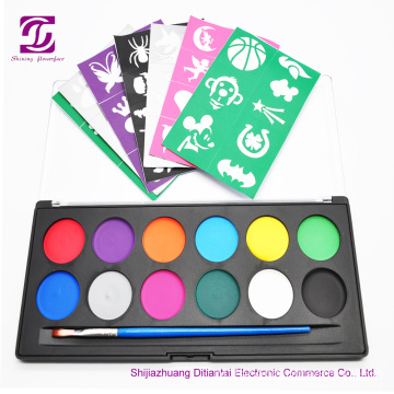 Good Pigment Vibrant Colors Nice Face Paint Set