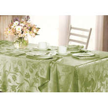Tulipa Design Jacquard Table Cover 4 Pessoas Assento St115