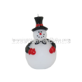 Snow Man Shape Light Changing Led Candle