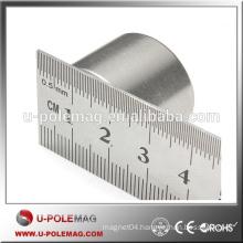 N35 Zinc Cheap Permanent NdFeB Cylinder Magnet