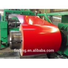 Enroulement de Chine couleur bobines d'acier contre la corrosion en acier de couleur