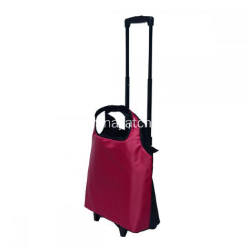 Avtagbar Trolley Bag Wheeled Shopping Bag