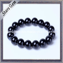 Good Quality Black Agate Bracelet for Jewelry