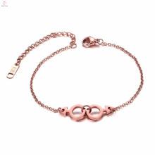 Moda artesanal orgulho gay jóias pulseira de aço inoxidável