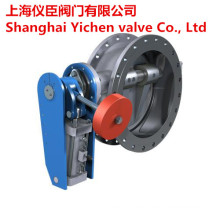 Tilting Hydraulic Pilot Operated Sewage Check Valve
