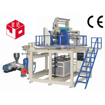 Machine de soufflage de film rétractable à chaud en PVC avec traction tournante