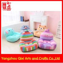 Dernier canapé design corail molleton doux bébé canapé chaise en peluche animal mignon enfants enfant canapé