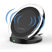 OEM Qi Standard Desktop Wireless Fast Charger Stand