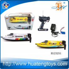 2014 Novo produto de alta velocidade de controle remoto barco dirigível barco isco de controle remoto H123251