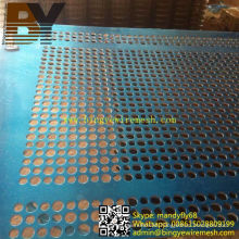 Galvanized Perforated Wire Mesh Fence
