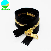 Closed End Corn Teeth Zipper Gold Plating Chain