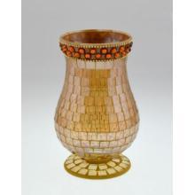 Novo projeto de mosaico de vidro Candle Holder