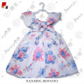 Summer cotton floral dress European style