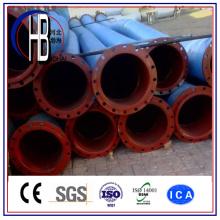 Manguera de tubo de dragado de HDPE de caucho de descompresión para el transporte de arena / lodo / agua con el mejor precio