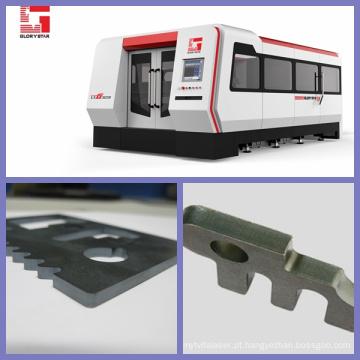 Máquina de corte do laser do metal 500W / 1000W / 2000W com fonte do laser do Ipg alemão com certificação do CE