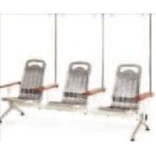 Krankenhaus Edelstahl Infusion Stuhl mit 3 Sitzen
