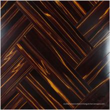 Plancher stratifié absorbant le bruit de cerise de miroir de HDF de 12.3mm E0