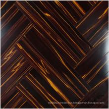 12.3mm E0 HDF Mirror Cherry Sound Absorbing Laminate Floor