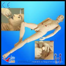 Avanzado Médico Completo-funcional Anciano Modelo de Paciente Masculino modelo masculino de enfermería de enfermería humano maniquí humano