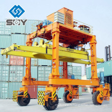 Топ производство кран ,лучшие РТГ резиновые шины контейнерный Козловой кран