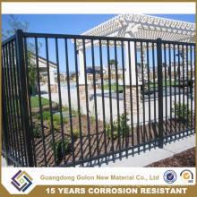 Металлические ворота с металлическими воротами Декоративные ограждения из железа Низкие декоративные ограждения