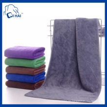 Microfiber Frottee Handtuch Bad Handtuch (QHM55439)