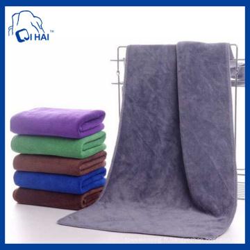 Serviette de bain à serviette en microfibre Terry (QHM55439)