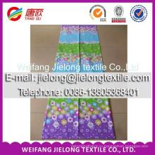 100% напечатанная ткань хлопок ткань для простыней в бале
