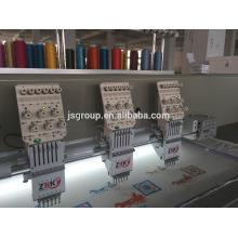Маленькая компьютерная вышивальная машина JINSHENG для штор, обуви, футболок
