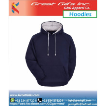Custom zip up 100% cotton Winter hoodies and for Sports