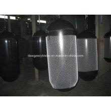 Cylindre de gaz CNG fabriqué en Chine à vendre 30liter, 50liter, 60liter 80liter, 100liter, 120liter, 150liter