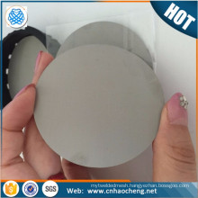 Disc Water Filter Using Stainless Steel Porous Sintered filter Disc