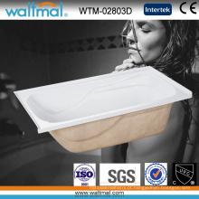 Barato alta qualidade 3 alcova banheira embutida