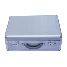 OEM / ODM Silber Aluminium Aktenkoffer Werkzeugkasten (KeLi-Aktentasche-1090)