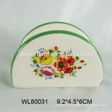Porte-serviette en céramique design simple