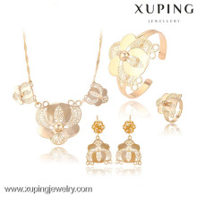 63607-Xuping Jewelry Fashion Girl Sets para la boda
