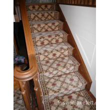 Customed anti-dérapant anti-mites escalier tapis en Stock