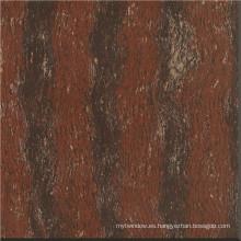 Azulejo rojo de la porcelana del piso pulido
