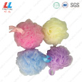 Colorful+shower+scrub+flower+bath+sponge+cleaner