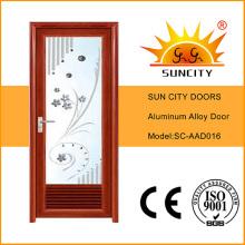 Хорошие алюминиевые двери со слепыми/дизайн жалюзи (СК-AAD016)