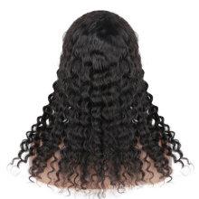 LIDEMEI 180% density human hair wigs for black women,wholesale brazilian raw virgin hair wigs,human hair wig with bangs