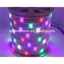 Nuevo producto a todo color smd2835 96led AC220v 240v luz de tira llevada con buen precio tira llevada flexible