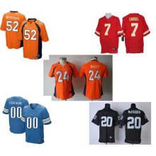 Jersey de futebol americano como seu uniforme do futebol do projeto
