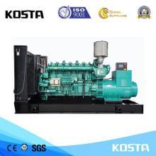 Leiser 800Kva Yuchai Dieselgenerator mit elektrischem Start