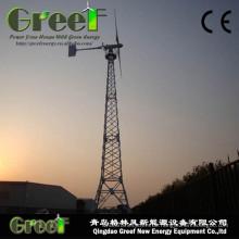 Horizontale 30kw Horizontale Windkraftanlage mit FRP-Blättern