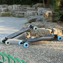 ONEWOW Carbon-Longboard mit Caved-Deck