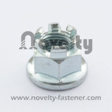 Hex Flange Slot Nut